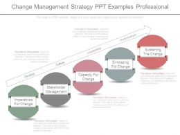 Change Management Strategy Ppt Examples Professional