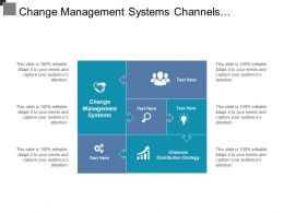 Change Management Systems Channels Distribution Strategy Content Strategy Cpb