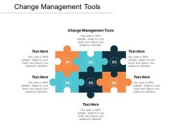 Change Management Tools Ppt Powerpoint Presentation Infographic Template Maker Cpb