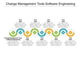 Change Management Tools Software Engineering Ppt Powerpoint Show Icon Cpb