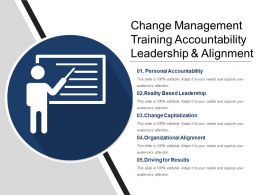 Change Management Training Accountability Leadership And Alignment