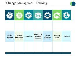 Change Management Training Powerpoint Slide Themes