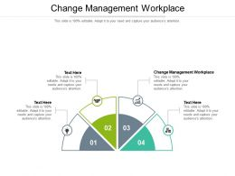Change Management Workplace Ppt Powerpoint Presentation Icon Picture Cpb