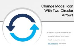 Change Model Icon With Two Circular Arrows