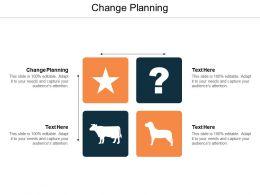 Change Planning Ppt Powerpoint Presentation Ideas Example Topics Cpb