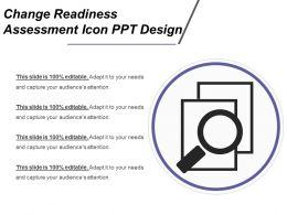 change_readiness_assessment_icon_ppt_design_Slide01