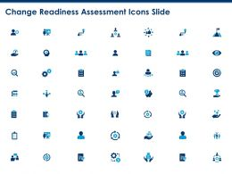Change Readiness Assessment Icons Slide Dollar Ppt Powerpoint Presentation Professional