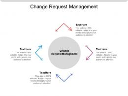 Change Request Management Ppt Powerpoint Presentation Model Designs Cpb