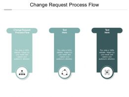 Change Request Process Flow Ppt Powerpoint Presentation Files Cpb