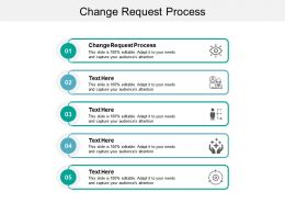 Change Request Process Ppt Powerpoint Presentation Pictures Example Cpb