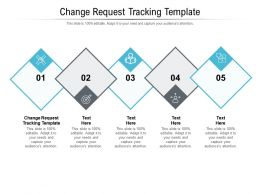 Change Request Tracking Template Ppt Powerpoint Presentation Model Backgrounds Cpb