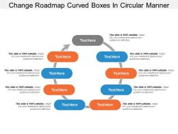 Change Roadmap Curved Boxes In Circular Manner