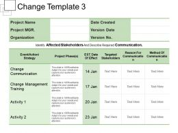 Change Template 3 Powerpoint Themes