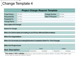 Change Template 4 Ppt Design