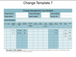 Change Template 7 Ppt Infographic Template