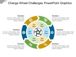 Change Wheel Challenges Powerpoint Graphics