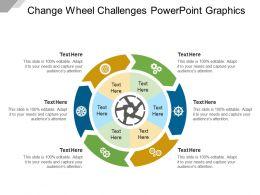 Change Wheel Challenges Powerpoint Graphics