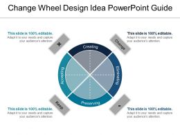 Change Wheel Design Idea Powerpoint Guide