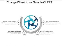Change Wheel Icons Sample Of PPT