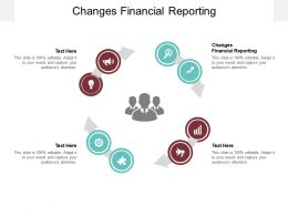 Changes Financial Reporting Ppt Powerpoint Presentation Infographics Diagrams Cpb