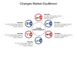 Changes Market Equilibrium Ppt Powerpoint Presentation Model Example File Cpb