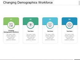 Changing Demographics Workforce Ppt Powerpoint Presentation Portfolio Influencers Cpb