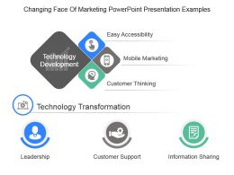 Changing Face Of Marketing Powerpoint Presentation Examples