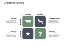 Changing Factors Ppt Powerpoint Presentation Infographic Template Slides Cpb