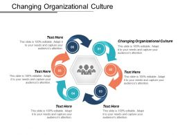 Changing Organizational Culture Ppt Powerpoint Presentation Icon Graphics Tutorials Cpb