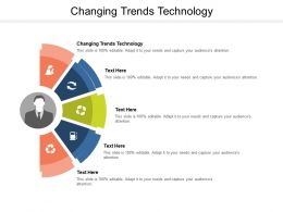 Changing Trends Technology Ppt Powerpoint Presentation Pictures Show Cpb