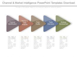 Channel And Market Intelligence Powerpoint Templates Download