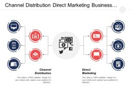 Channel Distribution Direct Marketing Business Benchmarking Business Communication