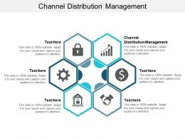 Channel Distribution Management Ppt Powerpoint Presentation Outline Professional Cpb