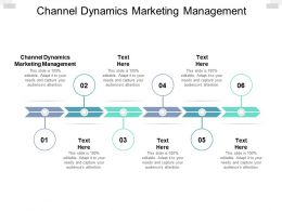 Channel Dynamics Marketing Management Ppt Powerpoint Presentation Gallery Cpb