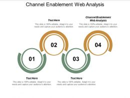 Channel Enablement Web Analysis Ppt Powerpoint Presentation Model Slides Cpb