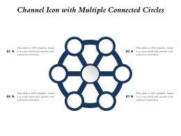 Channel Icon With Multiple Connected Circles