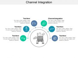 Channel Integration Ppt Powerpoint Presentation File Master Slide Cpb