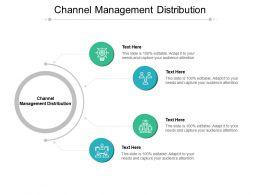 Channel Management Distribution Ppt Powerpoint Presentation Tutorials Cpb