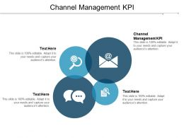 Channel Management KPI Ppt Powerpoint Presentation Infographic Template Gridlines Cpb