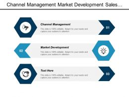 Channel Management Market Development Sales Incentive Management Sales Strategy Cpb