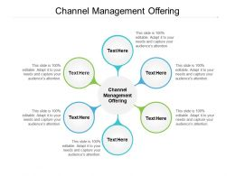 Channel Management Offering Ppt Powerpoint Presentation Icon Gridlines Cpb