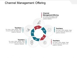 Channel Management Offering Ppt Powerpoint Presentation Model Professional Cpb