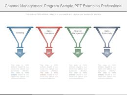 Channel Management Program Sample Ppt Examples Professional