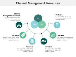 Channel Management Resources Ppt Powerpoint Presentation Deck Cpb