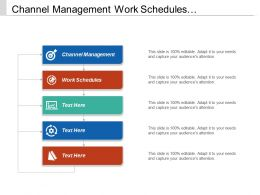 Channel Management Work Schedules Performance Appraisals Leadership Assessment Tool Cpb