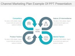 Channel Marketing Plan Example Of Ppt Presentation