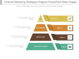 Channel Marketing Strategies Diagram Powerpoint Slide Images