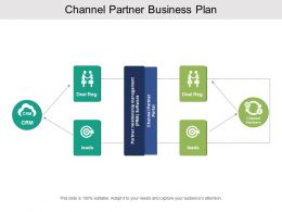 Channel Partner Business Plan