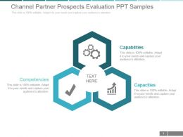 Channel Partner Prospects Evaluation Ppt Samples