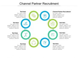 Channel Partner Recruitment Ppt Powerpoint Presentation Gallery Graphics Example Cpb